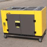 Consommation d'essence diesel ronde de générateur monophasé de bâti de fournisseur expérimenté de bison (Chine) BS12000t 10kw par heure