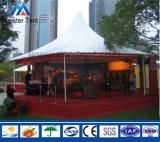 Tent van Wallpagoda van het Glas van multi-kanten de Hoge Piek