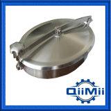 Coperchio di botola ellittico di Non-Pressione dell'acciaio inossidabile per industria alimentare