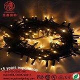Comprimento personalizado de alta qualidade anti-UV LED de Corrente de fios de borracha para o projeto de luzes de Cadeia de marcação RoHS AEA UL