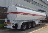 3 Edelstahl-Öl-Tanker-halb LKW-Schlussteil der Wellen-30-45cbm