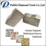 Schurende Stone Cutting Diamond Tools zag Blade Scherpe Segment