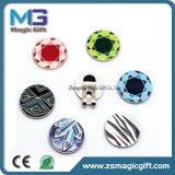 Großhandelspreis-fördernder Qualitäts-Metallmanschettenknopf mit weichem Decklack