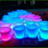 Le seau à glace de meubles de LDPE réutilisent le vin Cantainer