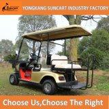 2+2のシートの作動すること容易な自動ゴルフカートシャンペンカラー電気ゴルフカート