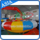 Nuovo giocattolo gonfiabile caldo dell'acqua della barca della discoteca, barca gonfiabile di uragano del grado commerciale