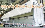 Tecnología wing de aluminio opening van trailer de Japón