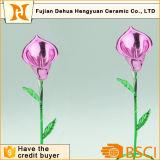 Fio artificial da flor do lírio de Muticolor para o dia do Valentim