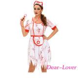 3PCS恐ろしいゾンビの看護婦の衣裳
