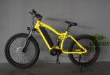 2017 bicicleta elétrica do pneu gordo o mais atrasado MTB com bateria do frame