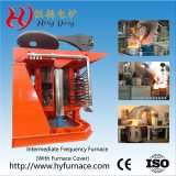 5t forno de fusão por indução de metal para ferro, cobre, aço, alumínio