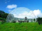 測地線ドーム、鉄骨フレームのドームの望楼、イベントのためのドームのテント