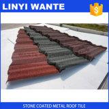Hoja de acero revestida de piedra del material para techos de China