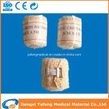 Fasciatura elastica 5cmx4.5m del Crepe di colore di pelle della Cina