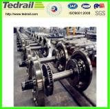 Rodas de aço Railway, rodas do trem, vário Wheelsets