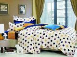 홈을%s 놓이는 다채로운 꽃 패턴 대나무 Microfiber 보통 염색된 침대 시트 고정되는 침구