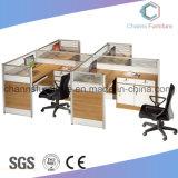 現代オフィス用家具木表ワークステーション