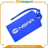 Étiquette respectueuse de l'environnement de bagage de silicones de mode