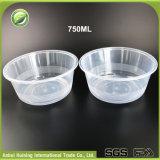 [750مل] [1000مل] مستهلكة واضحة بلاستيكيّة حساء مغفّل [سلد بوول] مع أغطية