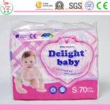 Couche-culotte remplaçable de bébé d'OEM bonne avec l'absorption élevée
