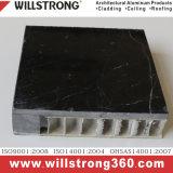 Comitato di alluminio di pietra del favo per la facciata