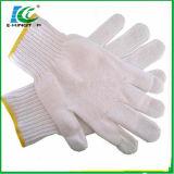 Gants tricotés de coton de sûreté de travail de Shandong