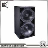 Double haut-parleur de subwoofer de 18 pouces 1200 Watt Club Bass Woofers