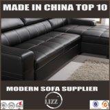 Base funcional do sofá com armazenamento