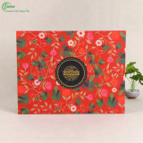 Cajas de cartón de empaquetado de la impresión de la flor (KG-PX090)