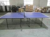 Vente en gros d'intérieur Double-Se pliante de Tableau de ping-pong de Tableau de ping-pong