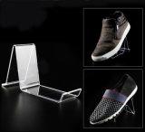De transparante AcrylHouder van de Plank van de Schoen