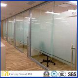 2mm-12mmのゆとりの酸のエッチングされたガラスか砂を吹き付けられたガラスか着色された曇らされたガラスドアまたはWindowsのための霜のまたはサンドブラスティングガラス曇らされた