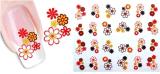 Collant provisoire de clou de transfert de l'eau de fleur de décoration de DIY