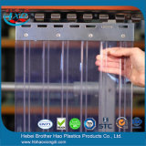 Fábrica en acanalado doble de Rolls del PVC del claro de la cena de la venta de la cortina duradera de la tira