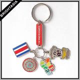 승진 (BYH-101038)를 위한 주문 고품질 Heart-Shaped Keychain