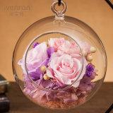 Regalo principal de la flor de Rose del tacto verdadero del arte para la decoración casera
