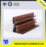 Деревянные поверхностные алюминиевые профили