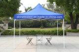 オックスフォードの布の折るおおいのテントの日曜日の陰のテントの広告
