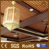Integrare la decorazione di legno composita del soffitto della prova di fuoco
