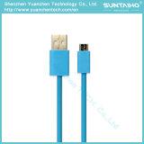 Carga rápida de color del cable micro USB para Samsung Smartphones