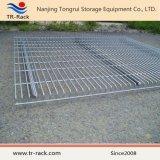 Decking d'acciaio della rete metallica Q235 per la cremagliera del pallet nella memoria del magazzino