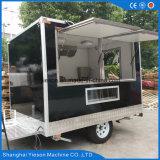 Caminhões móveis usados do alimento para a venda em China com Ce