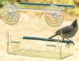 Buona qualità nessun alimentatore acrilico trasparente dell'uccello di Mess