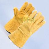 Сварка перчатки / Безопасность кожаные перчатки / кожаные рабочие перчатки