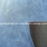 Het zachte Synthetische Leer van Pu voor de Zakken die van de Laarzen van Schoenen hx-S1709 maken