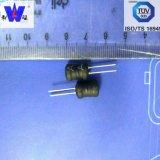 inductor van de Kern van de Trommel van 0810mm de Radiale Leaded Radiale Leaded Wirewound 1mh