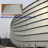 10mmのカーテン・ウォールのためのアルミニウム蜜蜂の巣のパネルの蜜蜂の巣サンドイッチパネル