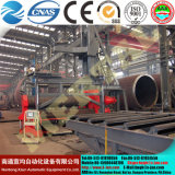 Mclw12hxnc-80X3200 Wind Tower Manufacturing Hidráulica CNC Plate Rolling Machine