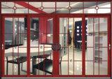 Двери обеспеченностью алюминиевые и конструкции Windows сделанные в Китае