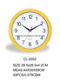 Mejores ventas de reloj de pared simple moderna de promoción